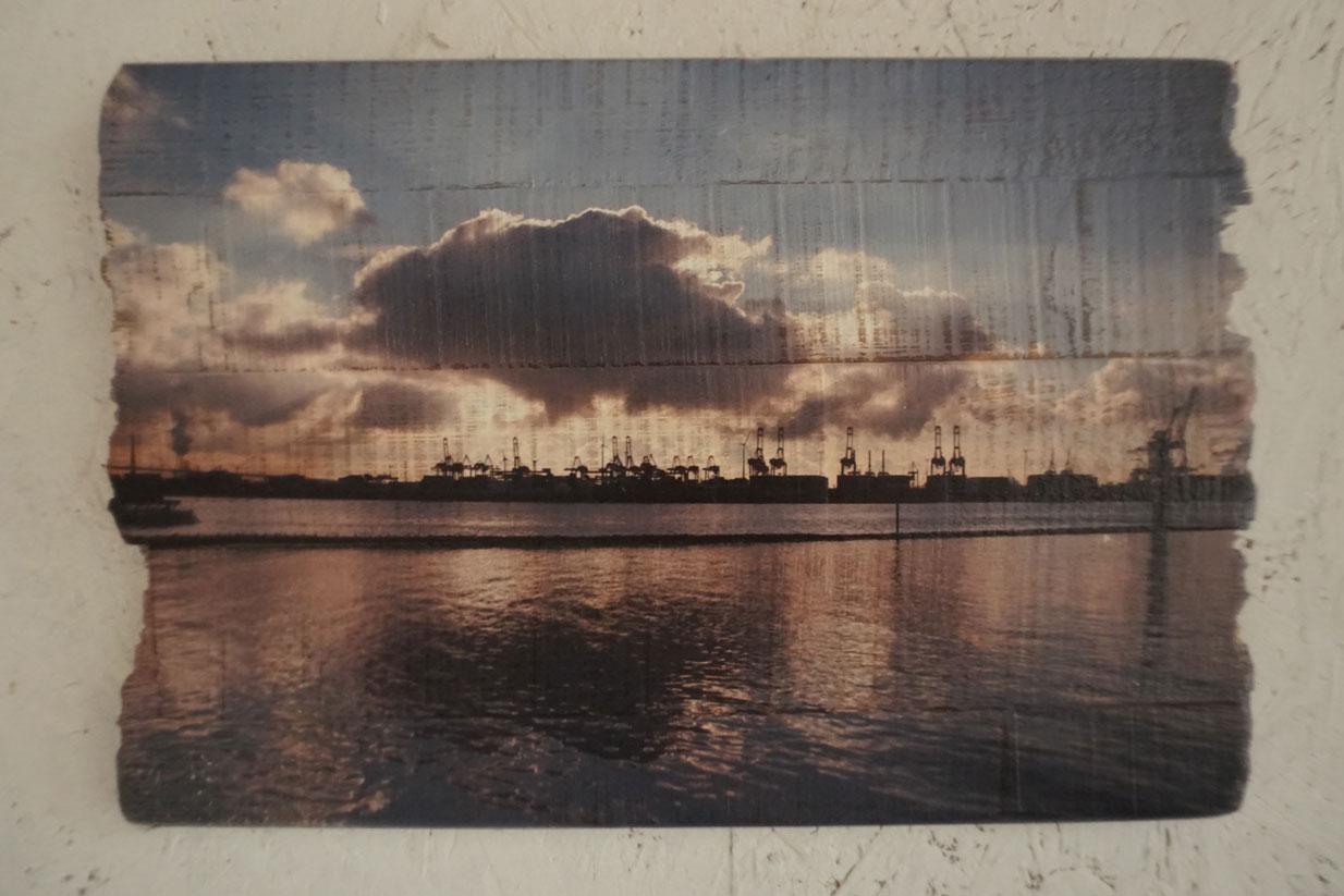 Gedruckte Fotos Auf Holz